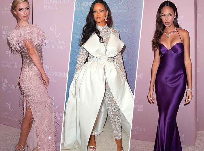 Diamond Ball 2018 : Rihanna, Paris Hilton, Joan Smalls... tous les plus beaux looks de la soirée !