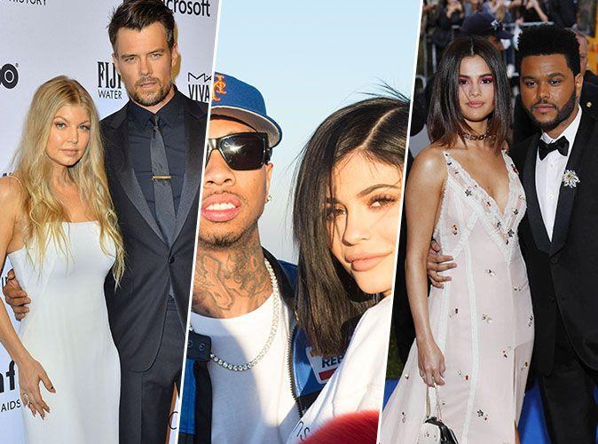 Fergie et Josh Duhamel, Kylie Jenner et Tyga, Selena Gomez et The Weeknd... Ces couples de stars brisés en 2017 !