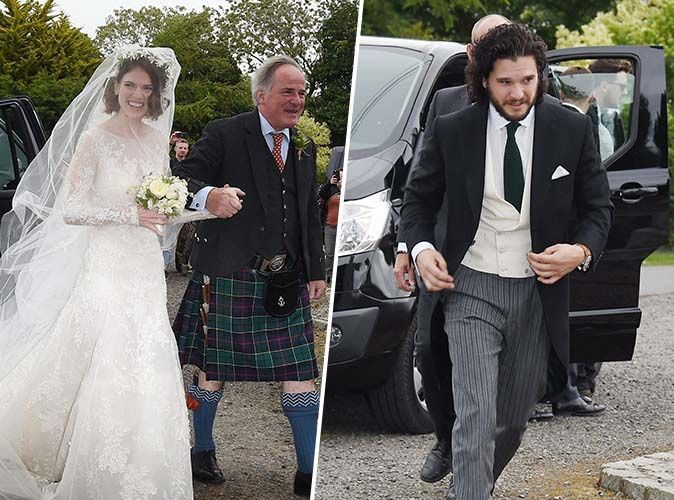 Game Of Thrones  Kit Harington (Jon Snow) et Rose Leslie (Ygritte) sont  mari et femme !