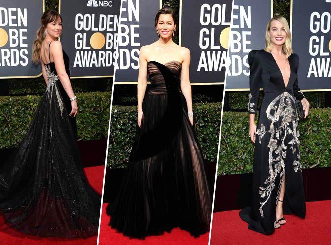 Golden Globes 2018 : Dakota Johnson, Margot Robbie, Jessica Biel... Tous les plus beaux looks de la cérémonie !