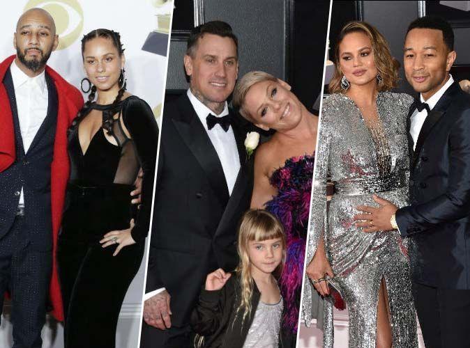 Grammy Awards 2018 : Alicia Keys, Pink, John Legend... les plus beaux couples de la soirée !