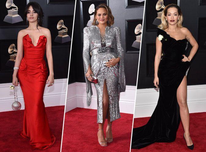 Grammy Awards 2018 : Camila Cabello, Chrissy Teigen, Rita Ora... tous les plus beaux looks de la cérémonie