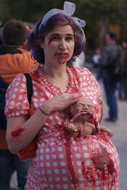 Top Halloween 2017 : ces costumes de femmes enceintes vont vous  RS71