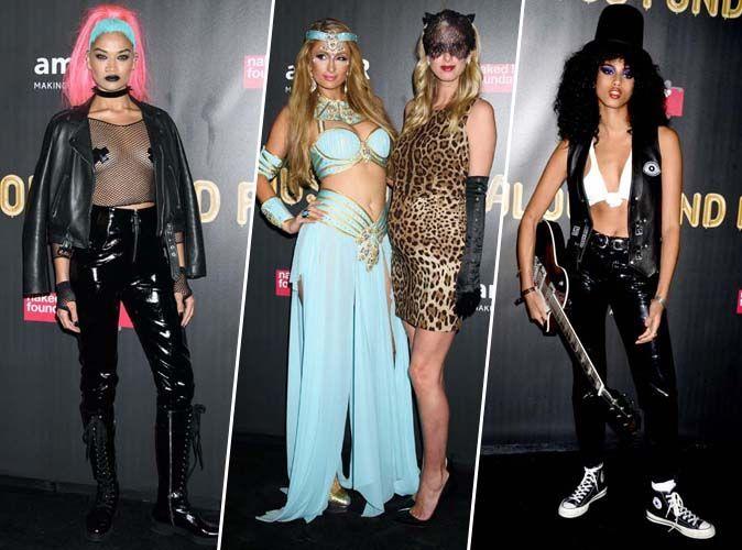 Halloween 2017 : Shanina Shaik, Paris et Nicky Hilton, Imaan Hammam... Tous les looks de l'amfAR