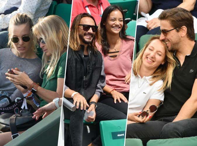 Ilona Smet, Estelle Lefébure, Bob Sinclar, Audrey Lamy... à Roland-Garros en double !