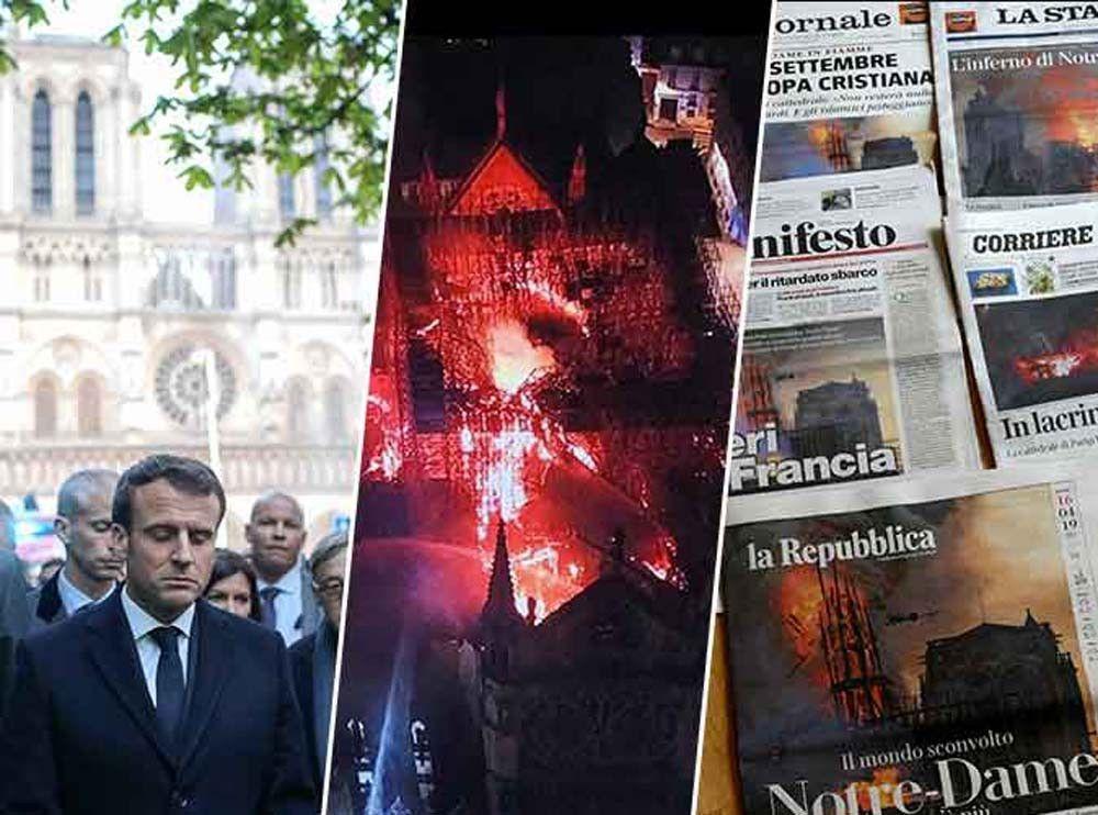 18455b955df Incendie à Notre-Dame de Paris   30 photos pour.