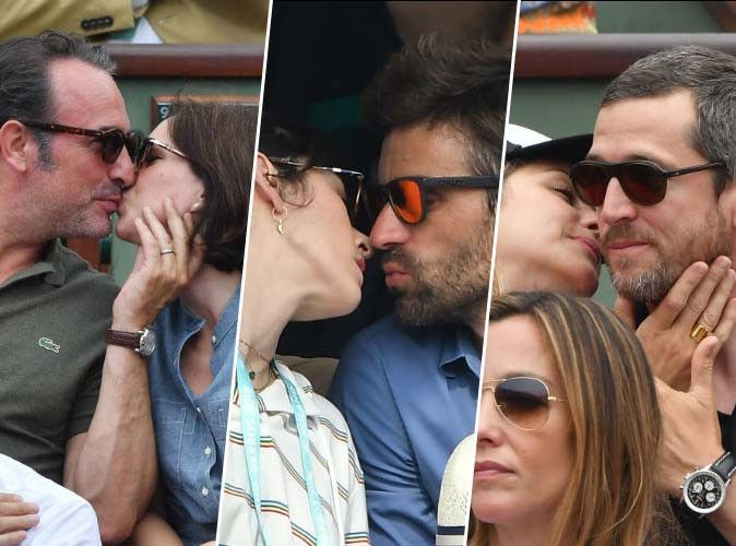 Jean Dujardin, Nolwenn Leroy, Marion Cotillard... bons baisers de Roland-Garros !