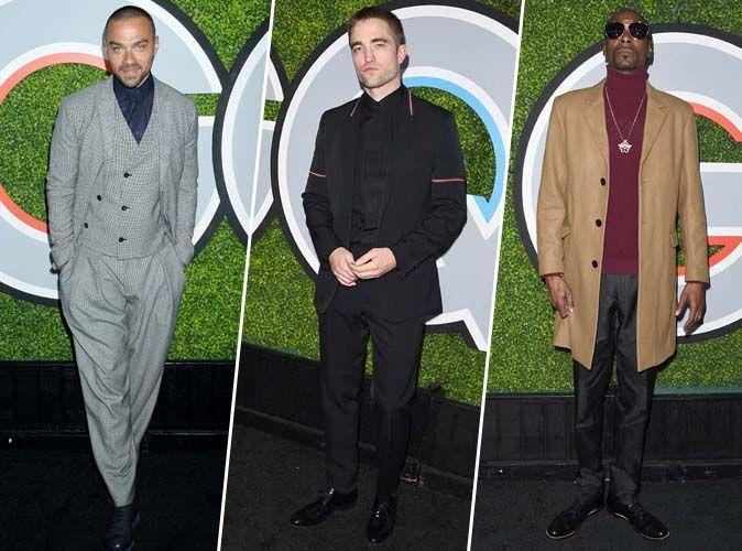 Jesse Williams, Robert Pattinson, Snoop Dogg... Sur leur 31 pour la soirée GQ Men Of The Year