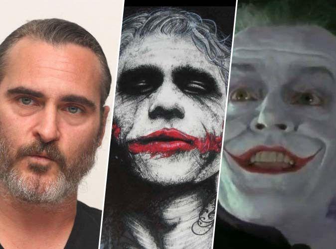 Joaquin Phoenix : il est le nouveau Joker, après Heath Ledger, Jack Nicholson et Jared Leto !