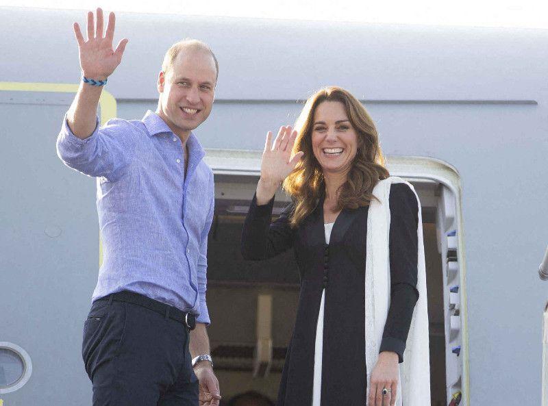 Kate Middleton : le prince William blague après leur grosse frayeur en avion !