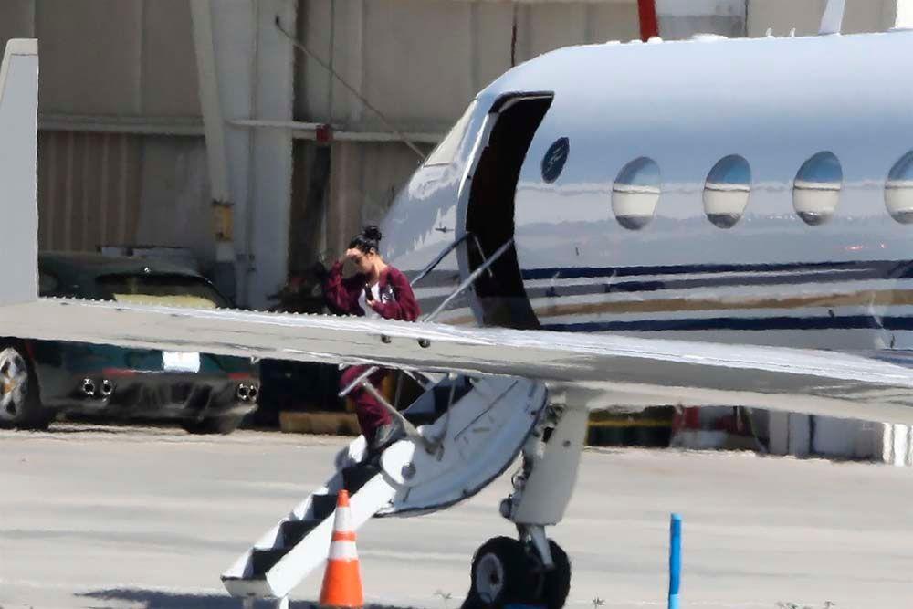 Kim, Kourtney, Kris, Kendall : de retour de Cleveland... sans Khloé et True !