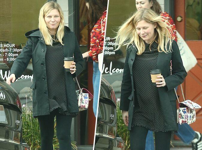 Kirsten Dunst enceinte : Premières photos de son baby-bump !