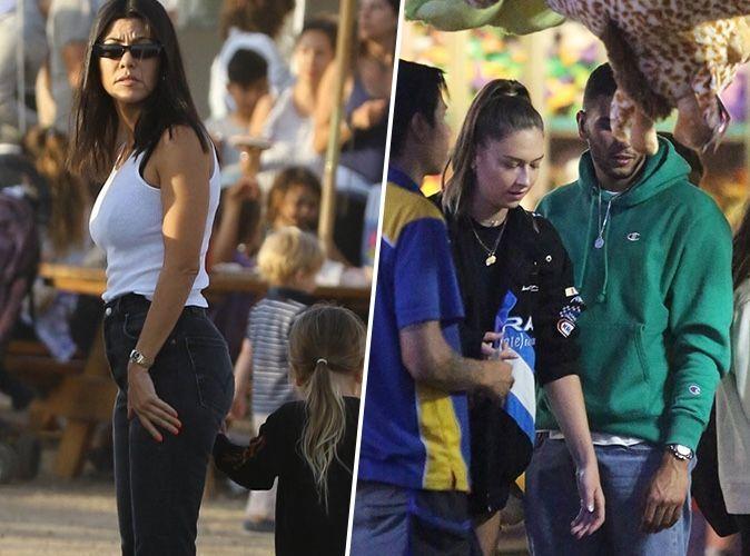 Kourtney Kardashian : elle croise Younes Bendjima en charmante compagnie dans un parc d'attraction