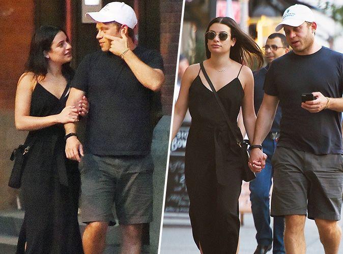 Lea Michele s'affiche pour la 1ere fois avec son futur mari, Zandy Reich