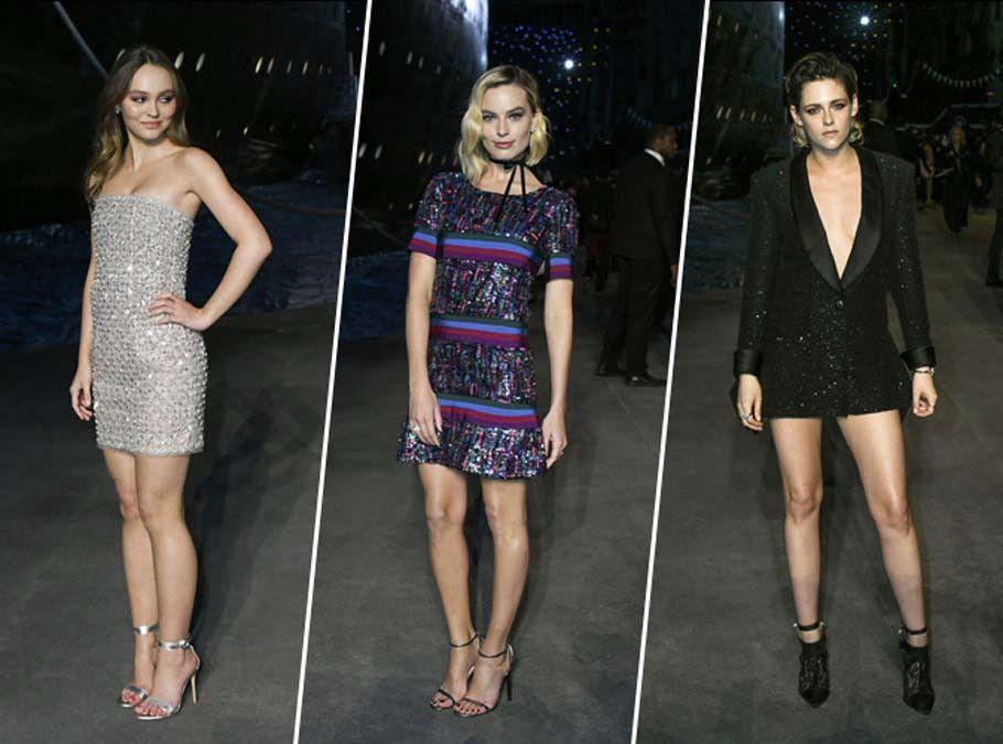 Lily-Rose Depp, Margot Robbie, Kristen Stewart... elles partent en croisière pour Chanel !