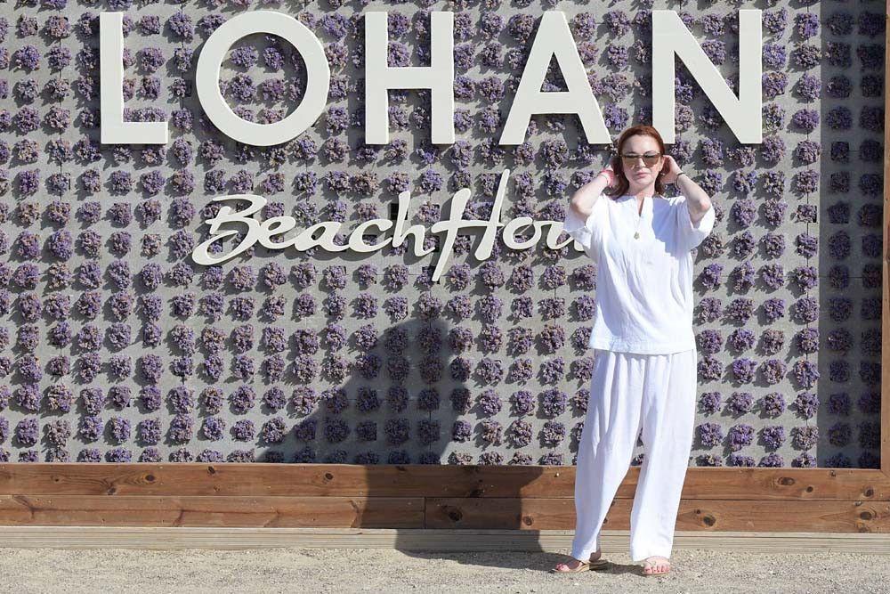Lindsay Lohan : on peut désormais venir faire la fête chez elle, à Mykonos !