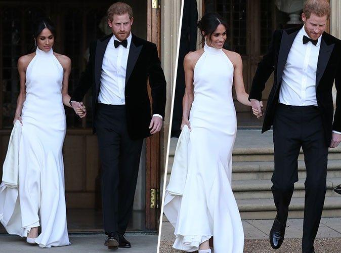 Mariage du Prince Harry et Meghan Markle  Les mariés changent de tenue  pour la soirée à Frogmore House !