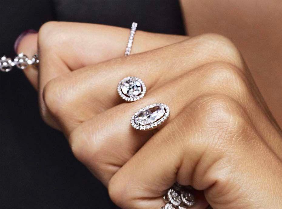 meilleures baskets e0586 1b98f Mariage : Duo diamant : Voici la nouvelle tendance de bagues ...