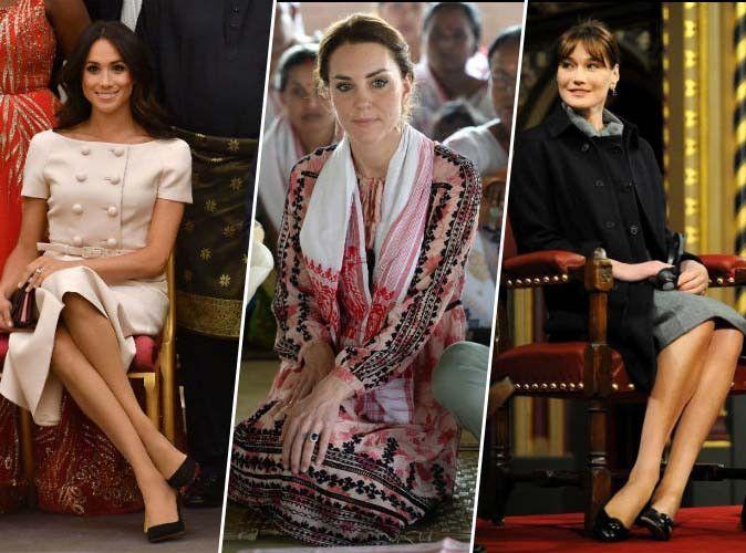 Meghan Markle, Kate Middleton, Carla Bruni ... ou comment s'asseoir comme une princesse !