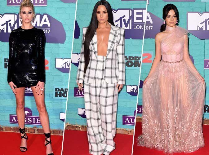 MTV EMA 2017 : Hailey Baldwin, Demi Lovato, Camila Cabello...  tous les looks de la cérémonie !