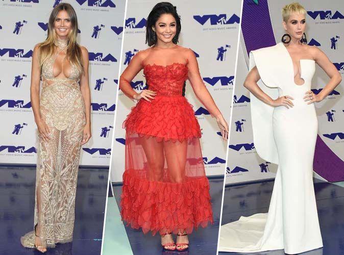 MTV VMA's 2017 : Heidi Klum, Vanessa Hudgens, Katy Perry