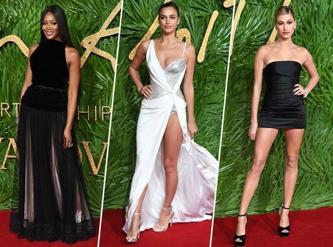 Naomi Campbell, Irina Shayk, Hailey Baldwin... Tous les plus beaux looks des Fashion Awards