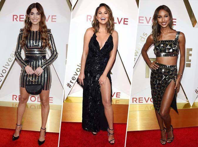 Negin Mirsalehi, Chrissy Teigen, Jasmine Tookes... Tous les plus beaux looks des Revolve Awards