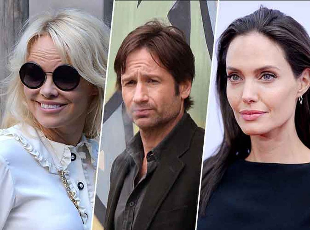 Pamela Anderson, David Duchovny, Angelina Jolie : 30 stars qui sont sex-addicts !