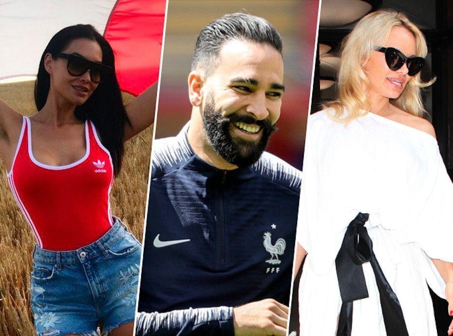 Pamela Anderson et Sidonie Biemont : La guerre des Wags d'Adil Rami est déclarée !