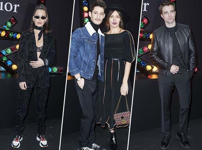 Paris Fashion Week : Bella Hadid, Pierre Niney, Robert Pattinson... pluie de stars au défilé Dior Homme