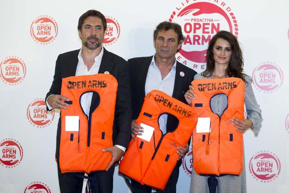 Penélope Cruz et Javier Bardem font équipe pour la bonne cause