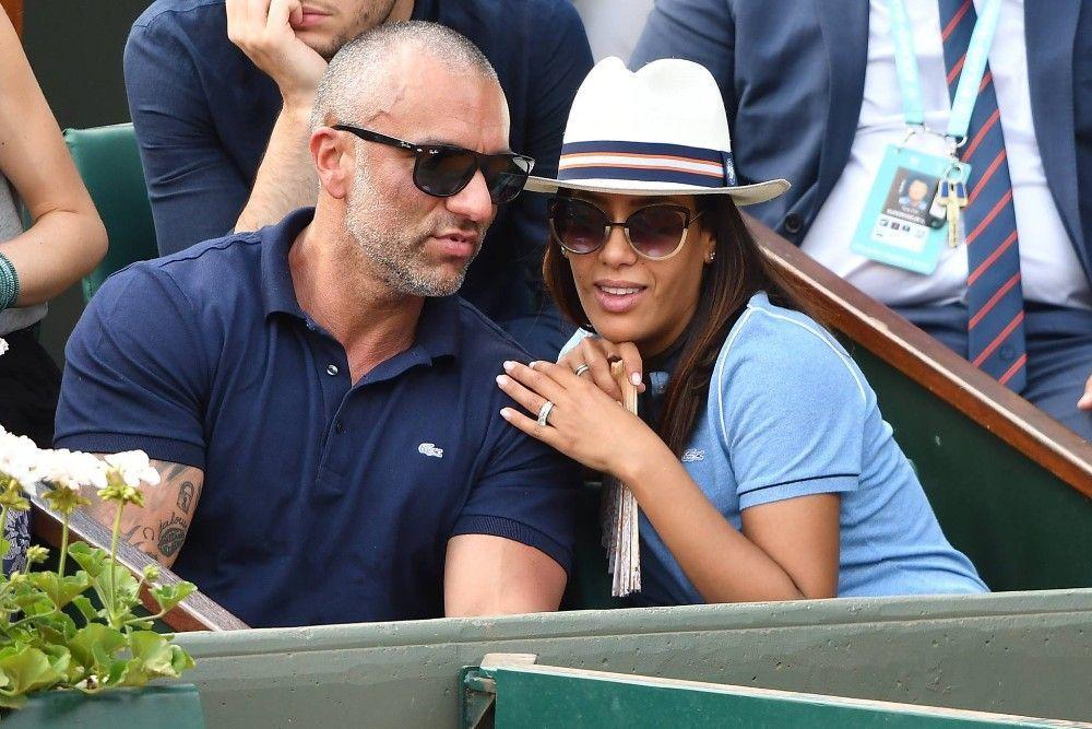 Amel Bent et son mari Patrick Antonelli déchaînés à Roland-Garros !