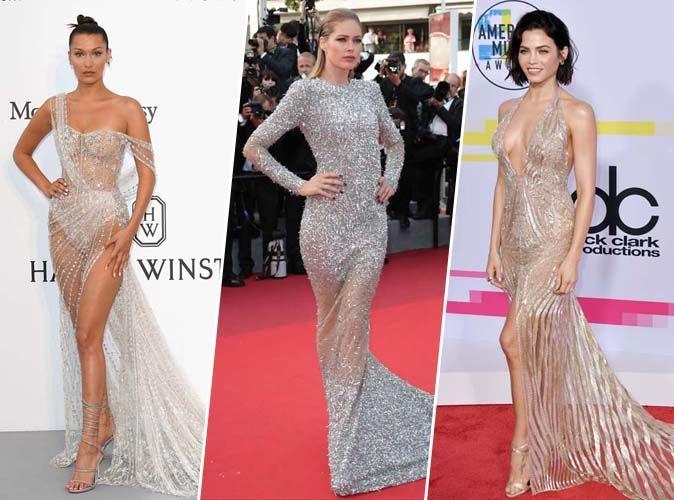 Bella Hadid, Doutzen Kroes, Jenna Dewan en robes sexy sur tapis rouge