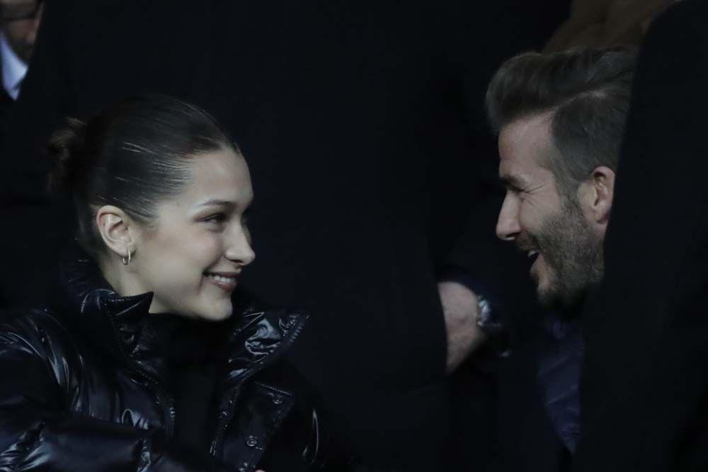 Bella Hadid et David Beckham flirtent au stade pendant la défaite du PSG !