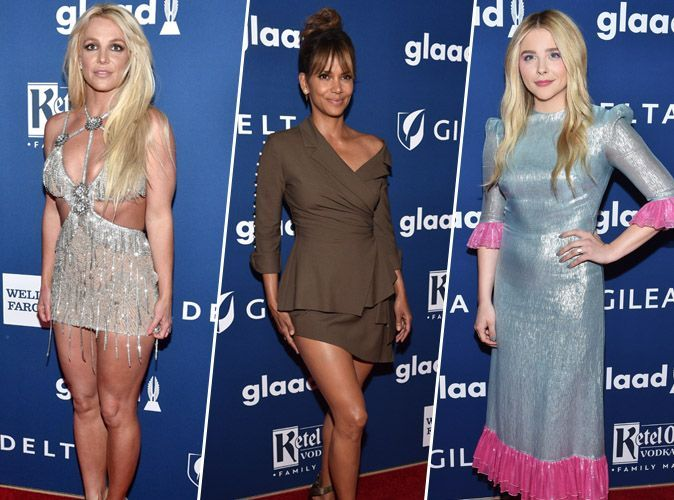 Britney Spears, Chloe Grace Moretz, Halle Berry : pluie de bombes aux Glaad Media Awards !