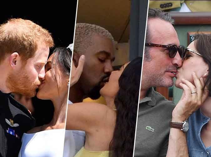 Photos : Ces stars qui s'embrassent pour la Saint-Valentin !