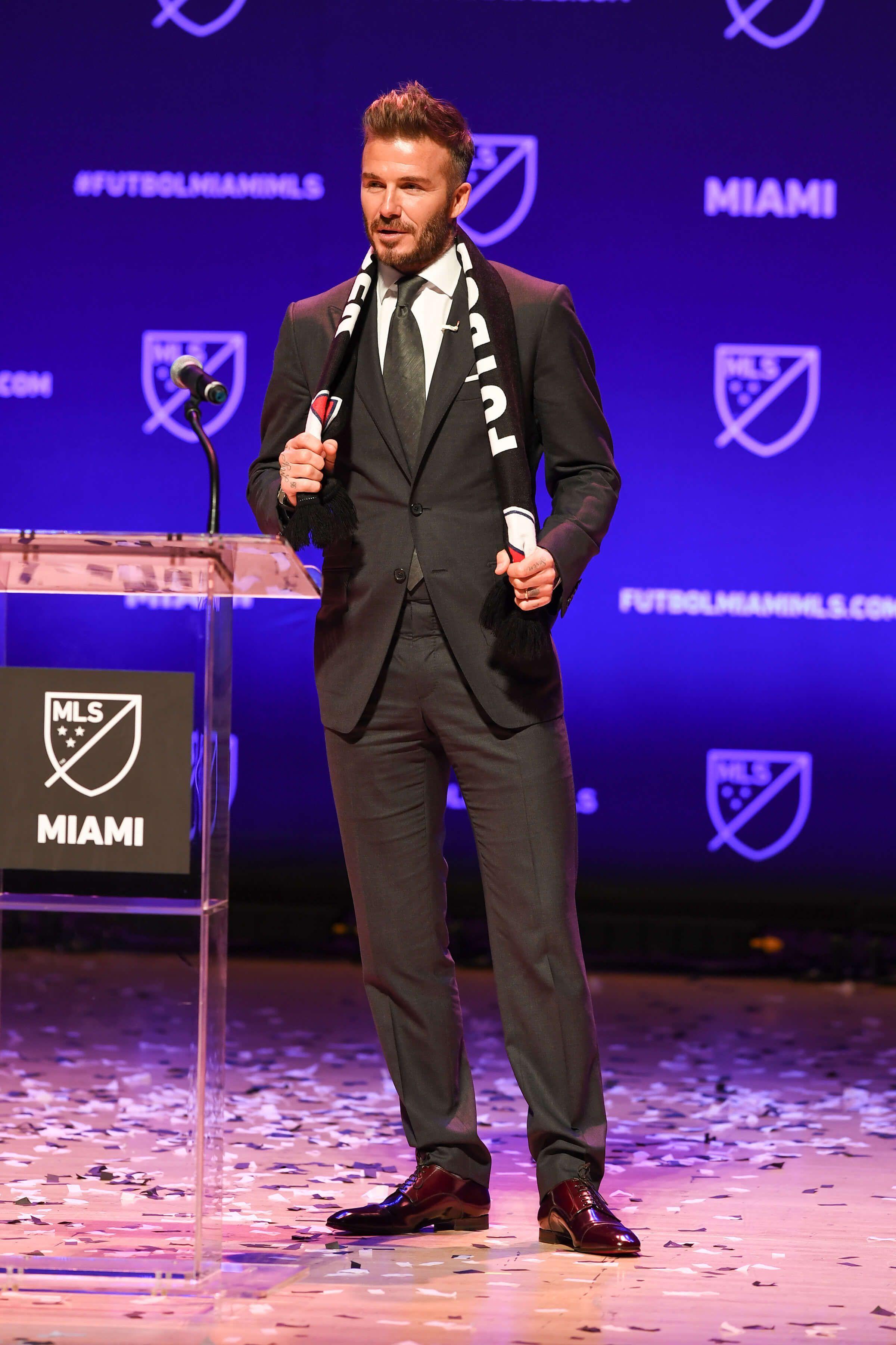 David Beckham : Propriétaire d'une nouvelle franchise en MLS