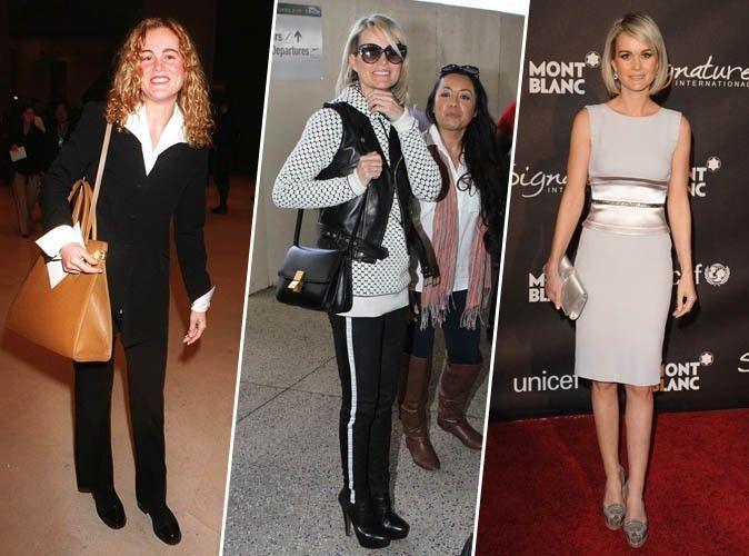 Photos : Découvrez l'impressionnante évolution look de Laeticia Hallyday