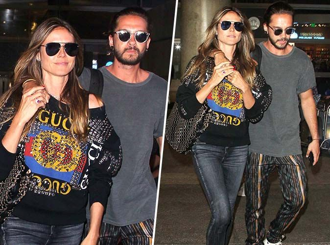 Heidi Klum et Bill Kaulitz (Tokio Hotel) s'affichent plus amoureux que jamais !