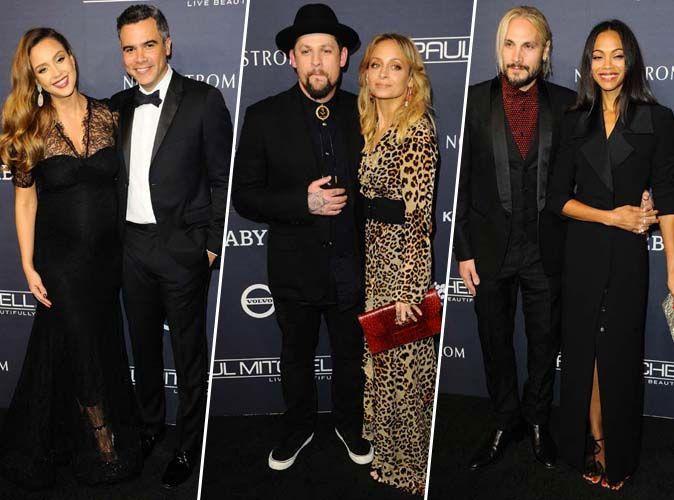 Jessica Alba, Nicole Richie, Zoe Saldana... Battle de couple au gala Baby2Baby