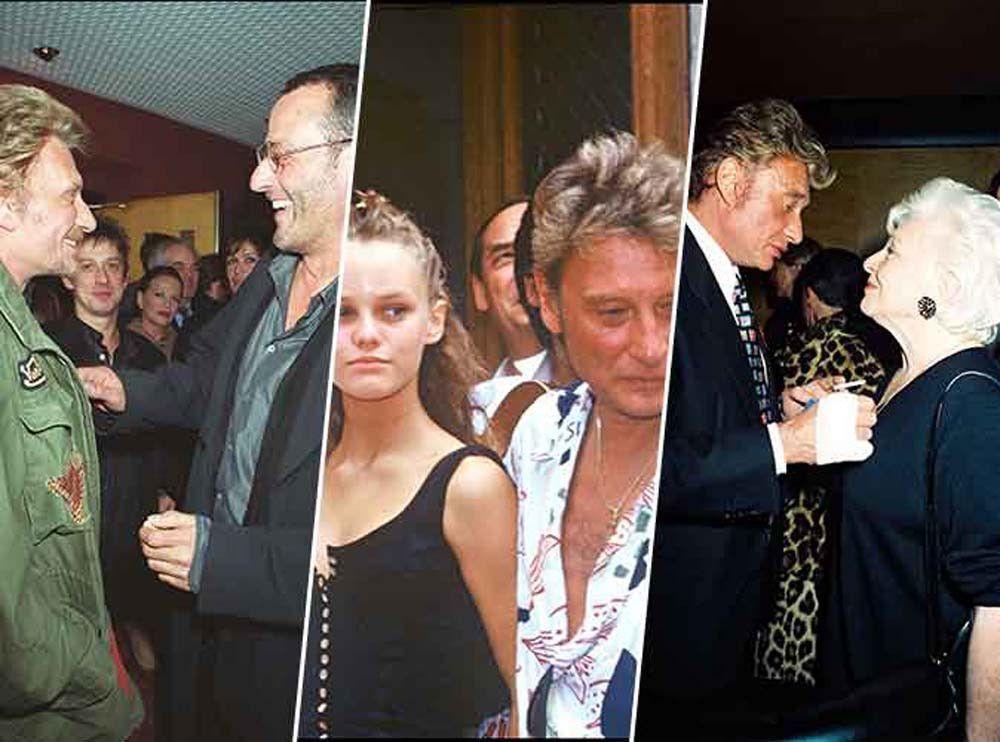 Johnny Hallyday : un an après sa mort, découvrez l'album photos de ses amitiés célèbres...