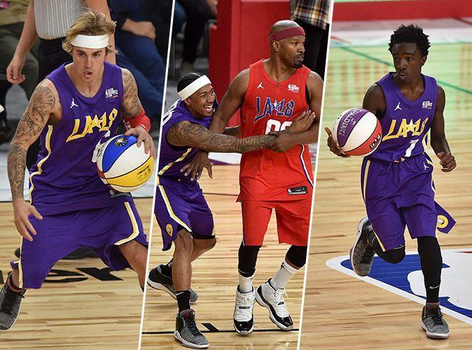 Justin Bieber, Caleb McLaughlin et Jamie Foxx rois des All Star Game