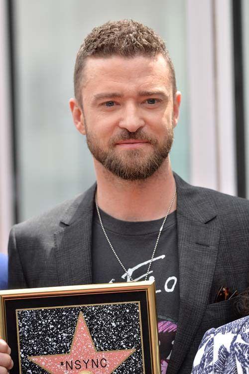 Justin Timberlake inaugure l'étoile des NSYNC et confesse avoir aimé une Spice Girl !