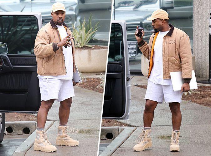 Kanye West : Il devient la risée du web à cause de ce look