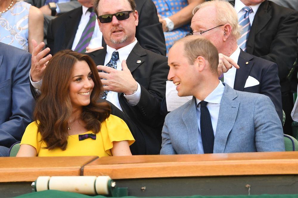 Kate Middleton et le Prince William : Un couple glamour à Wimbledon