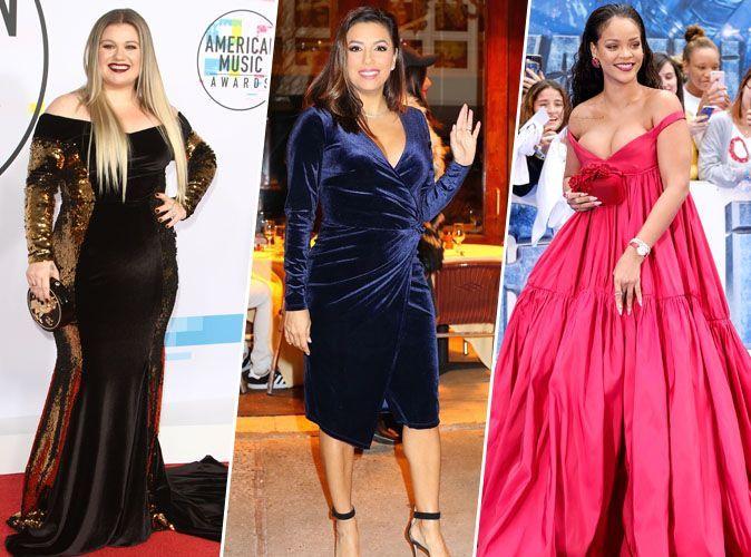 Kelly Clarkson, Eva Longoria, Rihanna... Ces stars qui ont pris du poids en 2017