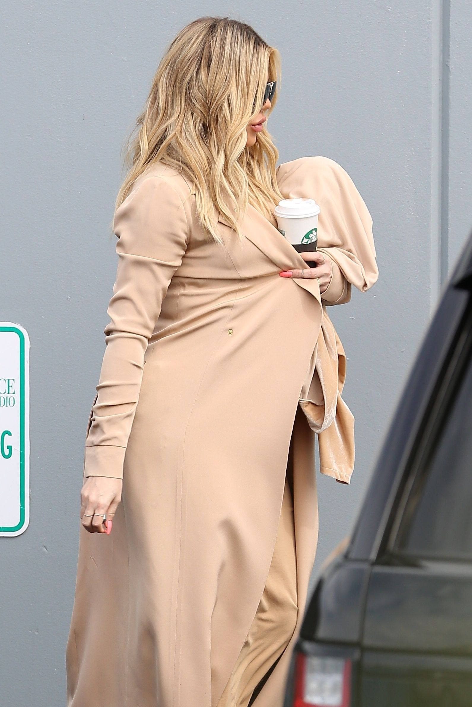 Khloe Kardashian : accouchement imminent !