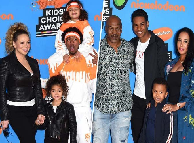 Kids Choice Awards 2018 : Mariah Carey et Mike Tyson en famille !