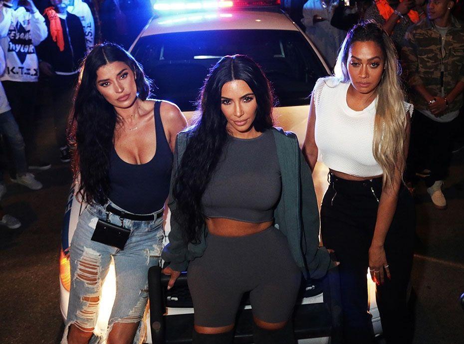 Kim Kardashian : Folle soirée avec ses copines et... Kanye West !