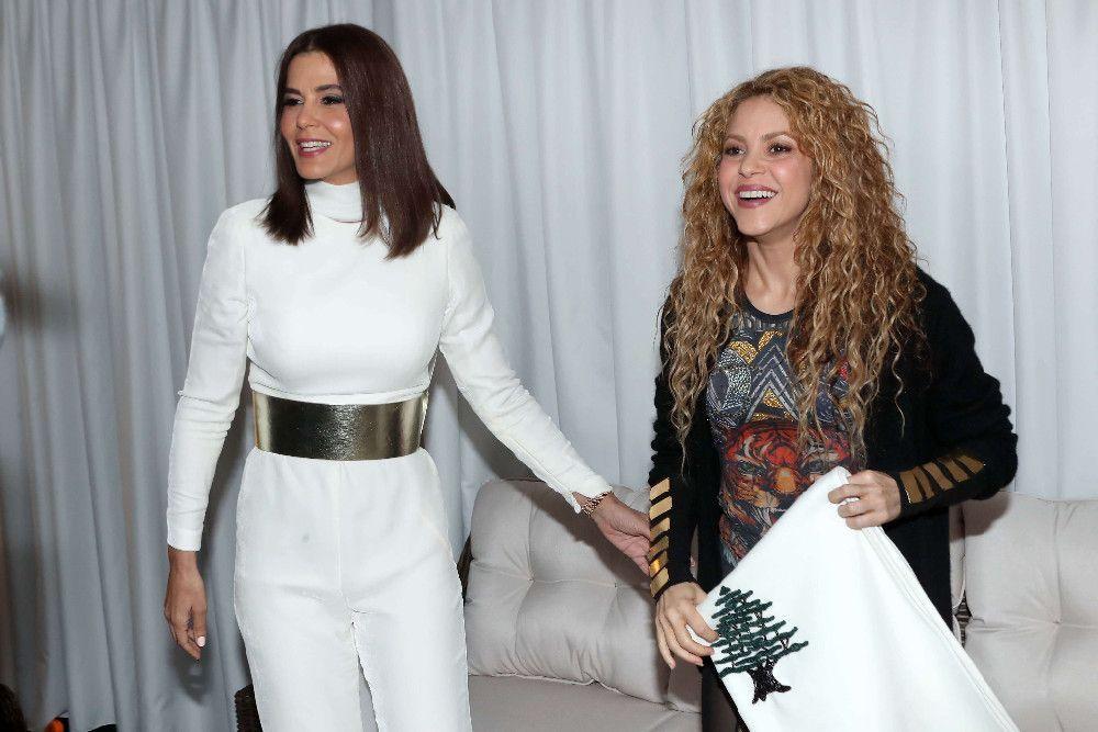 L'hommage rendu à Shakira au Liban